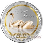 Tokelau YOURS ALWAYS $5 Silver Coin 2013 PROOF