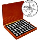USA 56 STATES & TERRITORIES QUARTERS $14 Coin Set 25 cents x 56 coins 1999 - 2009