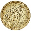 USA BASKETBALL HALL OF FAME $5 Five Dollars Gold Coin Concave Convex Shaped 2020 Uncirculated