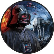 Niue Island IMPERIAL AT-AT WALKERS series DARTH VADER STAR WARS $2 Silver Coin 2017 Ruthenium plated 1 oz