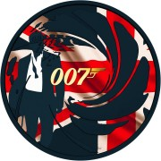 Tuvalu 007 JAMES BOND #3 Silver Coin $1 2020 Metallic finish 1 oz