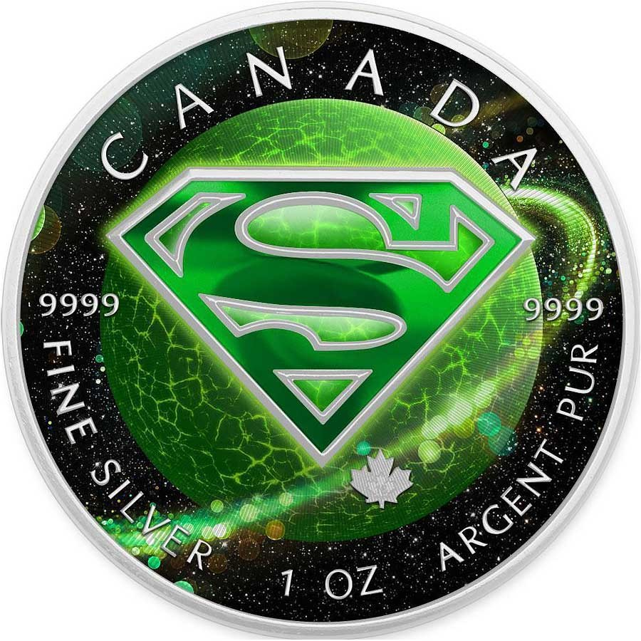 Canada Superman Planet Krypton Canadian Maple Leaf 5