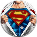 Canada SUPERMAN SHIELD Canadian Maple Leaf $5 Silver Coin 2016 High relief of S-logo 1 oz