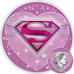 Canada SUPERMAN SUPERGIRL Canadian Maple Leaf $5 Silver Coin 2016 High relief of S-logo 1 oz