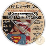 Canada SUPERMAN LABOURS Canadian Maple Leaf $5 Silver Coin 2016 High relief of S-logo 1 oz