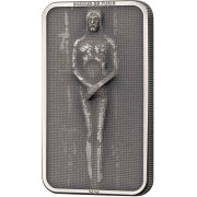 Cook Islands HOLY SHROUD OF TURIN JESUS CHRIST - CATHEDRAL OF TURIN Silver Coin $10 Antique Finish Matt Proof 2020 Smartminting 1 oz