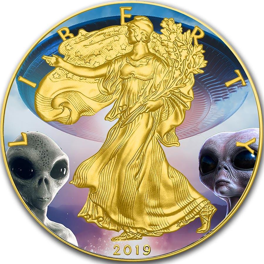 American Silver Eagle 2018 Walking Liberty $1 Dollar Coin 1 oz