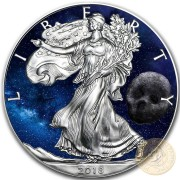 USA DEATH COMET American Silver Eagle 2018 Walking Liberty $1 Silver coin 1 oz