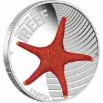 Australia THE REEF- STARFISH series AUSTRALIAN SEA LIFE II Silver Coin $0.50 Proof 2012