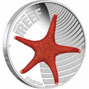 Australia THE REEF - STARFISH series AUSTRALIAN SEA LIFE II Silver Coin $0.50 Proof 2012