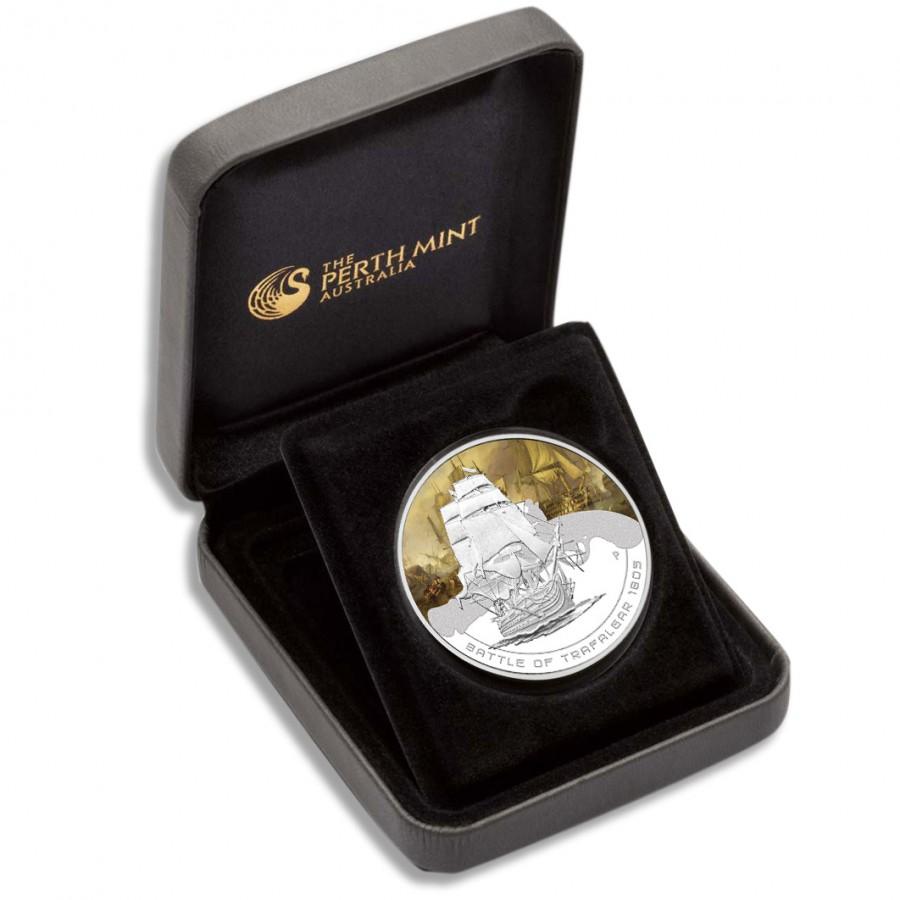 Australia BATTLE OF HAMPTON ROADS Series FAMOUS NAVAL BATTLES Silver Coin $1 Proof 2010