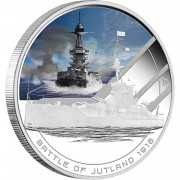 Australia BATTLE OF JUTLAND Series FAMOUS NAVAL BATTLES Silver Coin $1 Proof 2011