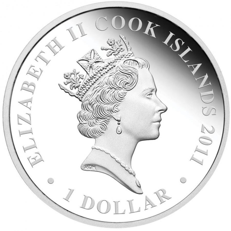 Australia BATTLE OF JUTLAND Series FAMOUS NAVAL BATTLES Silver Coin $1 Proof 2011