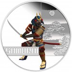 Tuvalu SAMURAI Series GREAT WARRIORS $1 Silver Coin 2010 Proof 1 oz