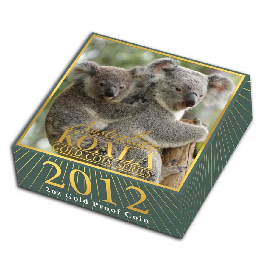 Australia AUSTRALIAN KOALA $15 Gold Coin 2012 Proof 1/10 oz