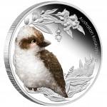 Australia AUSTRALIAN KOOKABURRA Series BUSH BABIES II Silver Coin 50 cents 2012 Proof