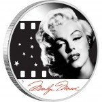 Tuvalu MARILYN MONROE $1 Silver Coin Proof 2012