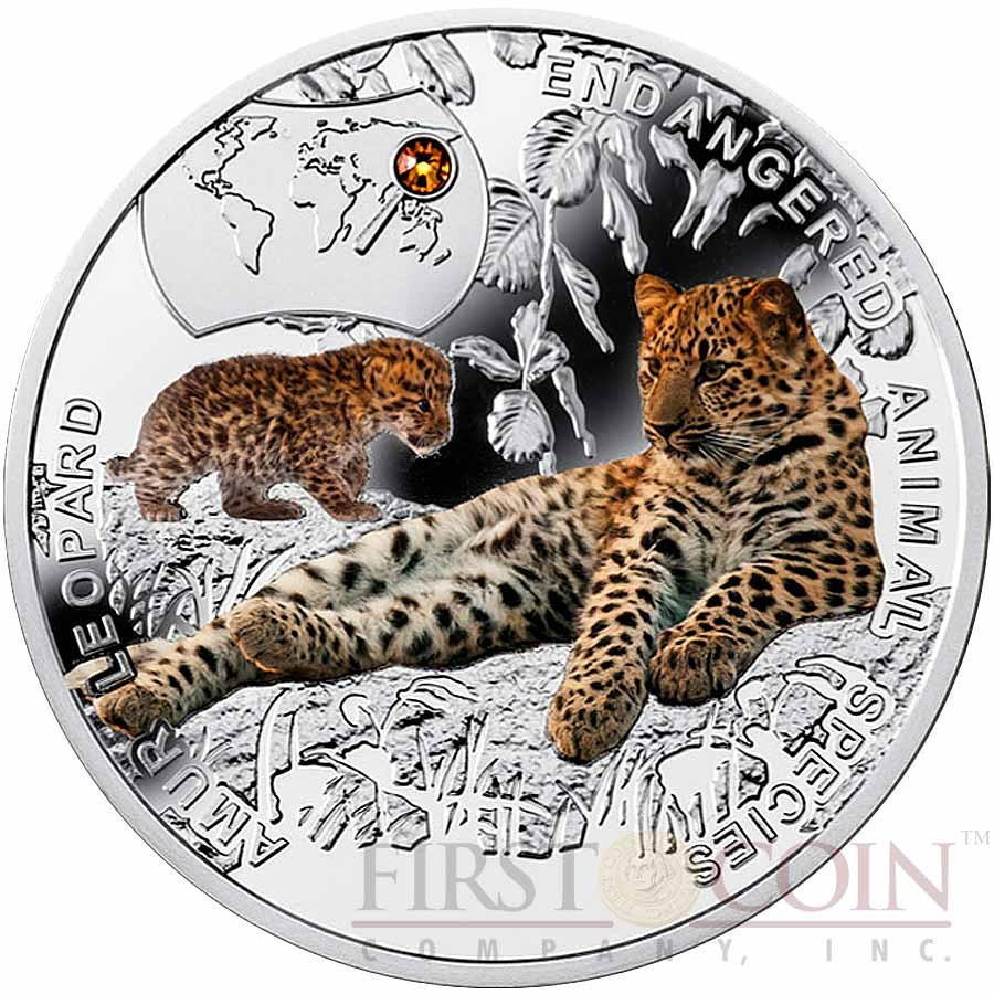 Mountain Gorilla 1 Oz Silver Proof Coin Niue 2015 $2 Endangered Species Series