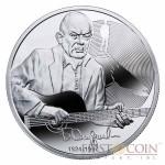 Niue Bulat Okudzhava $1 Silver Coin 2014 Proof