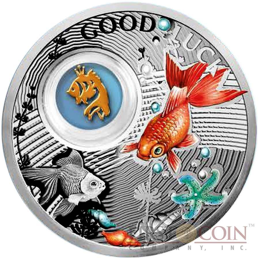 Niue Goldfish Lucky Coins Silver Coin Symbols Of Luck Series 1