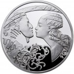 Niue Island ROMEO AND JULIET series FAMOUS LOVE STORIES $1 Silver Coin 2010 Proof