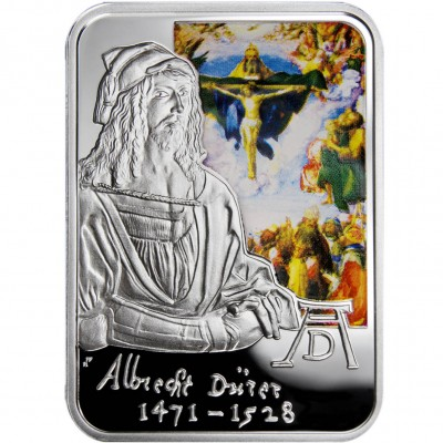 Andorra ALBRECHT DURER Series PAINTERS OF THE WORLD Silver Coin 10 Diner 2010 Proof