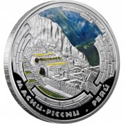 Andorra MACHU PICCHU Series WONDERS OF THE WORLD 10 Diner Silver Coin 2009