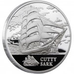 Belarus SHIP CUTTY SARK Series SAILING SHIPS 20 Rubles Silver Coin 2011