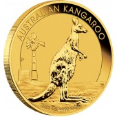 Gold Bullion Coin AUSTRALIAN KANGAROO 2012 - 1 oz