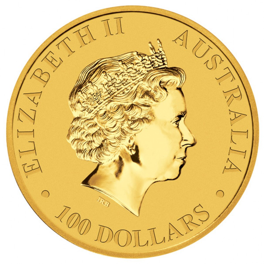 Gold Bullion Coin Australian Kangaroo 2012 1 Oz