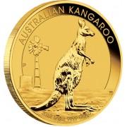 Gold Bullion Coin AUSTRALIAN KANGAROO 2012 - 1/2 oz