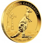 Gold Bullion Coin AUSTRALIAN KANGAROO 2012 - 1/4 oz