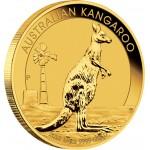Gold Bullion Coin AUSTRALIAN KANGAROO 2012 - 1/4 oz