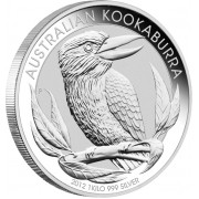 Silver Bullion Coin AUSTRALIAN KOOKABURRA 2012 - 1kg