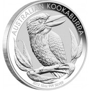Silver Bullion Coin AUSTRALIAN KOOKABURRA 2012 - 10 oz