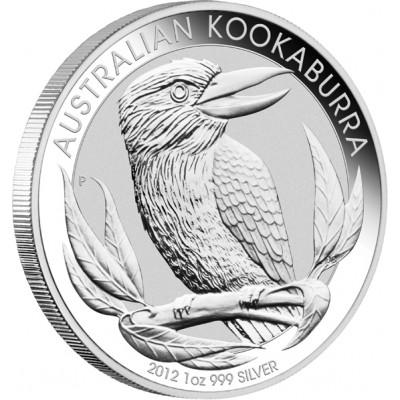 Silver Bullion Coin AUSTRALIAN KOOKABURRA 2012 - 1 oz