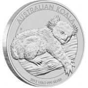 Silver Bullion Coin  AUSTRALIAN KOALA  2012 - 1 kg