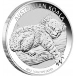 Silver Bullion Coin  AUSTRALIAN KOALA  2012 - 1/2 oz