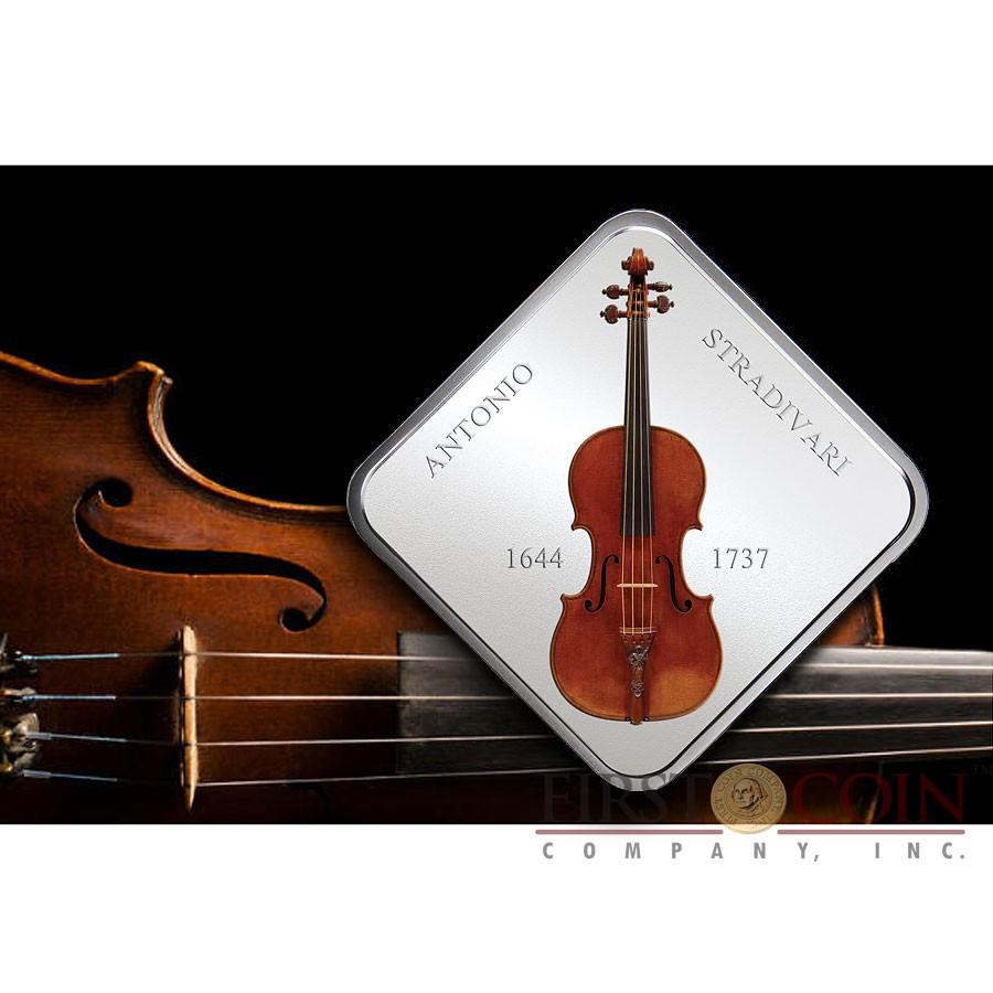 Niue Violin Lady Blunt Stradivarius By Antonio Stradivari