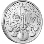 VIENNA PHILHARMONIC SILVER BULLION COIN 2012 - 1OZ