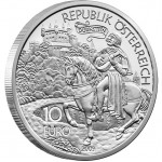 "Silver Coin RICHARD I, THE LIONHEART 2009 ""Tales and Legends of Austria"" Series"