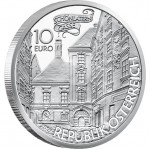 "Silver Coin THE BASILISK 2009 ""Tales and Legends of Austria"" Series"