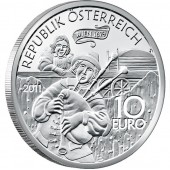 "Silver Coin ""MY DEAREST AUGUSTIN"" 2011 ""Tales and Legends of Austria"" Series"