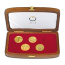 """Crowns of the House of Habsburgs"" 2012 Series Five Gold Coins Set"