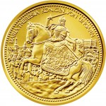 "Gold Coin ""THE HUNGARIAN CROWN OF ST STEPHEN"" 2010 ""Crowns of the House of Habsburgs"" Series"
