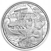 "Silver Coin ""BRIGANTIUM"" 2012 ""Romans on the Danube"" Series"