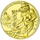 Gold-plated Silver CALENDAR MEDAL 2012