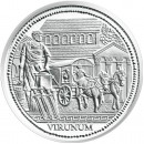 "Silver Coin ""VIRUNUM"" 2010 ""Romans on the Danube"" Series"