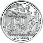 "Silver Coin ""CARNUNTUM"" 2011 ""Romans on the Danube"" Series"