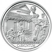 "Silver Coin ""CARNUNTUM"" 2011 ""Romans on the Danube"" Series"